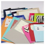 A Nice Surpise - Fun and Funky Lined Envelopes