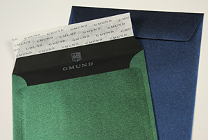 6 1/2 Square Gmund Reaction Envelopes With Self Stick Seal