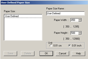 Print Driver Information