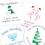 Personalized Envelope Seals! Time to Think About Those Holiday Cards. . .