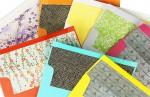 Colorful DIY Lined Envelopes