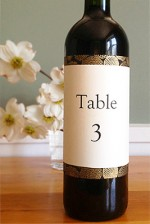 Make Your Own Wine Bottle Table Numbers - So Easy!