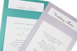Glider Cards-Great for Wedding Invitations & Menus