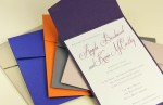 New Colorful Invitation Pockets Just In!