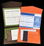 Stardream Pocketfold Invitations - New Color: Flame