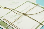 Twine Wrapped Invitation Ensemble