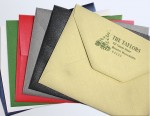 Metallic Envelopes for Holiday - Blank or Printed