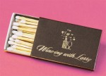 Classic Wedding Favor - Personalized Matchbooks!
