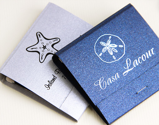 Private: Stardream Metallic Personalized Matchbooks