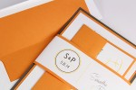 Orange Fizz Lined Envelope!