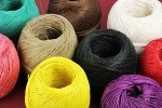 Dyed Hemp Twine for Rustic Wedding Stationery