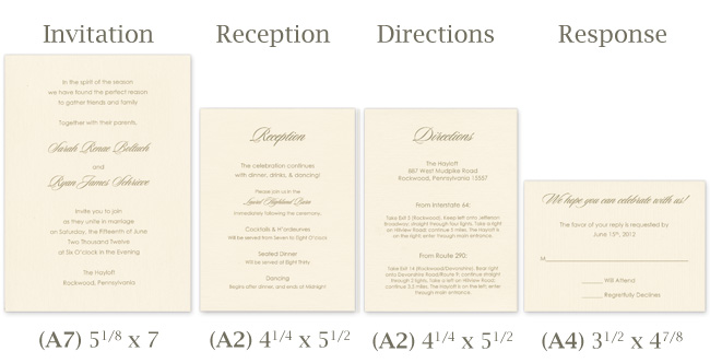 Assembly Of Wedding Invitations: Make Your Own Tissue Wrapped Wedding Invitation Ensemble
