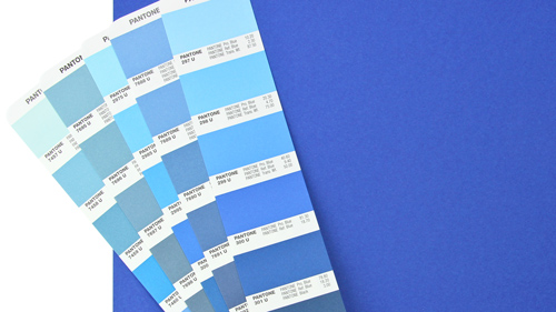 Closest color representation matching with pantone