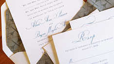 elegant-word-invites