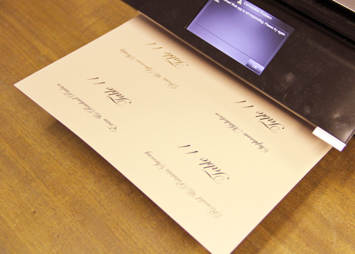 how to print flat place cards lci paper