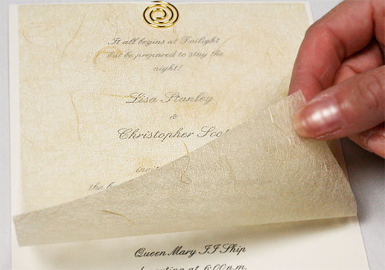 paper for invitations