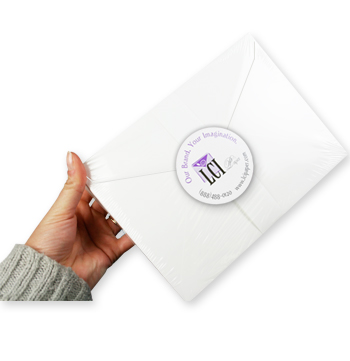 LCI Paper envelopes packaged in shrink wrap