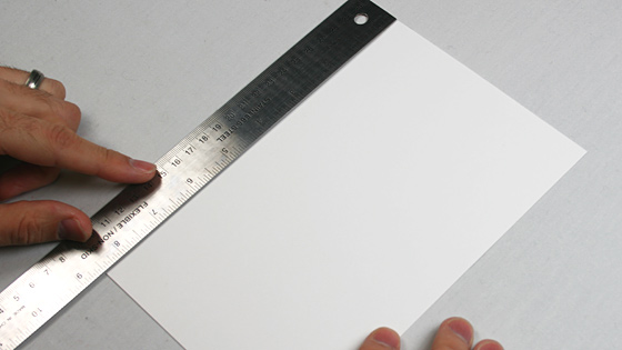measure invitation card