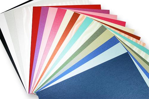 metallic paper array