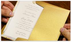 gold pocket card