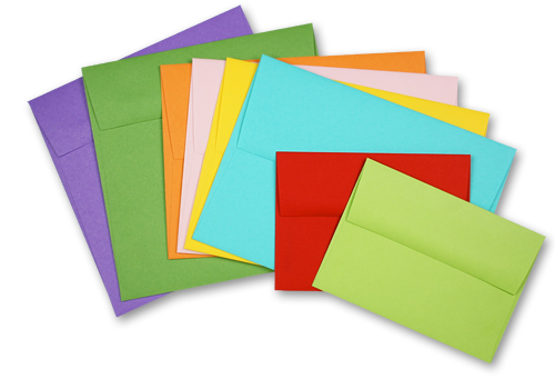 Pop-Tone envelopes in a variety of sizes