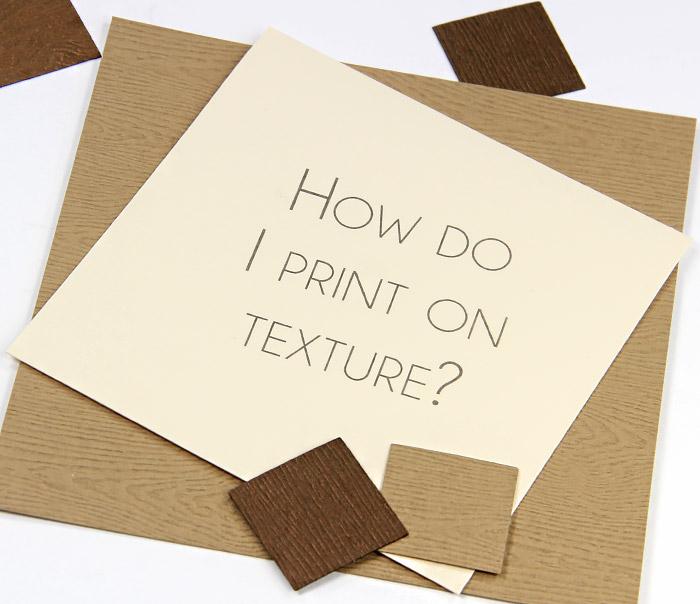 Heavy Textured Cardstock Paper