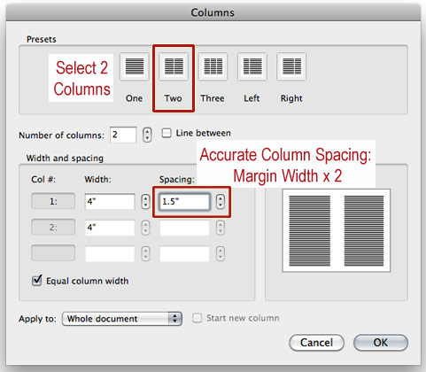 how to change spacing in word