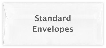 Standard wallet envelope