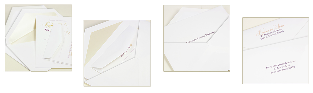Exactly what are double wedding envelopes lci paper for Wedding invitations with double envelopes