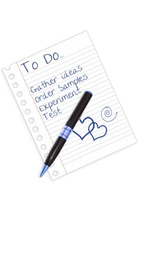 DIY invitation to do list
