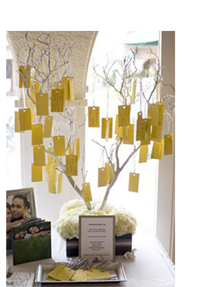 wishing tree guest book
