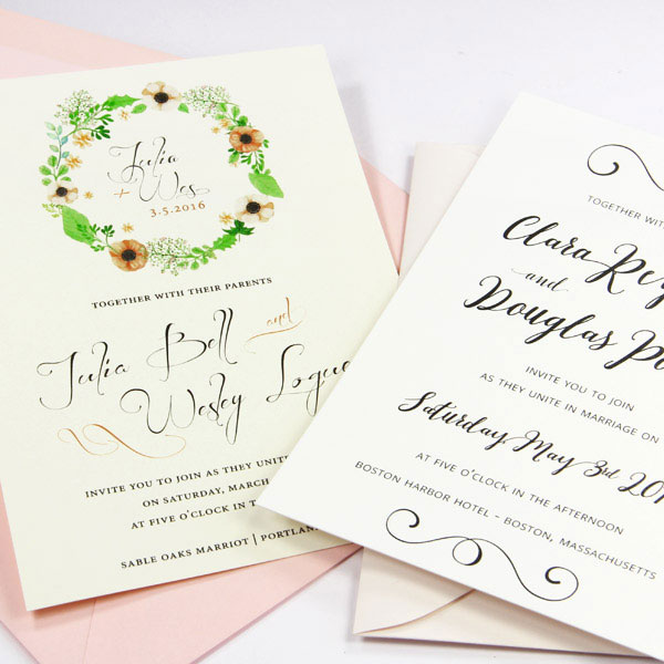 Blank Cards Blank Invitations Note Cards At LCI Paper
