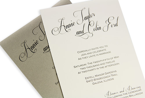 Diy Calligraphy For Wedding Invitations Diy Wedding Idea