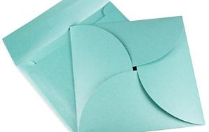 Folded Pochette And Envelope