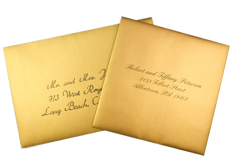 Printing Wedding Invitation Envelopes At Home: Blank & Printed In 48hrs
