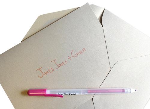 wedding invitations without inner envelope properly address pocket invitations without inner envelopes - How To Address Wedding Invitations Without Inner Envelope