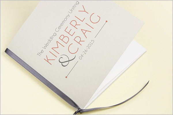 Wedding Ceremony Programs Stationery To Design Print