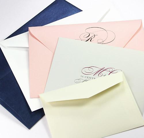 Shop dozens of popular wedding envelope sizes
