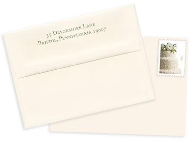 how to write address on envelope mailed to uk