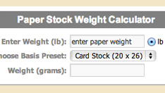 Grams To Pounds Paper Calculator